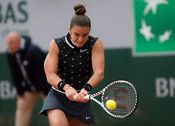 May 30, 2019 - Paris, FRANCE - Maria Sakkari of Greece in action during her second-round match at the 2019 Roland Garros Grand Slam tennis tournament (Credit Image: © AFP7 via ZUMA Wire)