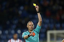 Referee Ed Janssen during the Dutch Eredivisie match between Willem II Tilburg and sc Heerenveen at Koning Willem II stadium on September 23, 2017 in Tilburg, The Netherlands