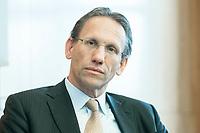 """18 JUN 2018, BERLIN/GERMANY:<br /> Dr. Joerg Kukies, Staatssekretaer im Bundesministerium der Finanzen, Veranstaltung Wirtschaftsforum der SPD: """"Finanzplatz Deutschland 2030 - Vision, Strategie, Massnahmen!"""", Haus der Commerzbank<br /> IMAGE: 20180618-01-139<br /> KEYWORDS: Jörg Kukies"""