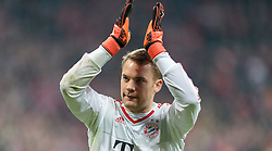 04.11.2015, Allianz Arena, Muenchen, GER, UEFA CL, FC Bayern Muenchen vs FC Arsenal, Gruppe F, im Bild Manuel Neuer (FC Bayern) // during the UEFA Champions League group F match between FC Bayern Munich and FC Arsenal at the Allianz Arena in Munich, Germany on 2015/11/04. EXPA Pictures © 2015, PhotoCredit: EXPA/ JFK