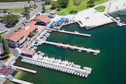 Aerial Stock Photo of Playa del Norte Facility at Lake Mission Viejo California