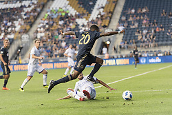 July 18, 2018 - Chester, Pennsylvania, U.S - Philadelphia Union midfielder MARCUS EPPS(20) in action against Orlando City during the Lamar Hunt U.S. Open Cup quarter finals at Talen Energy Field in Chester PA (Credit Image: © Ricky Fitchett via ZUMA Wire)