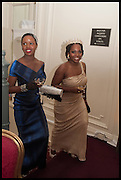 LOLADE ALAKIJA; IVIE OMENAI, Florence Heoluwa 'Cuppy' Otedola Marie Antoinette Graduation party. Mandarin Oriental, Knightsbridge25th of July 2014.