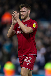 Tomas Kalas of Bristol City applauds the away fans after the match - Mandatory by-line: Daniel Chesterton/JMP - 15/02/2020 - FOOTBALL - Elland Road - Leeds, England - Leeds United v Bristol City - Sky Bet Championship