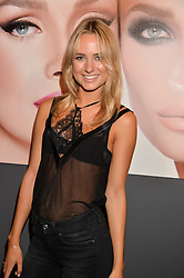 KIMBERLEY GARNER at the launch of Simply Glamorous by Gary Cockerill held at Alon Fine Art, 5-7 Dover Street, London on 16th September 2015.