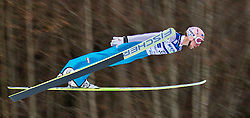 05.02.2011, Heini Klopfer Skiflugschanze, Oberstdorf, GER, FIS World Cup, Ski Jumping, 1. Wertungsdurchgang, im Bild Martin Koch (AUT) , during ski jump at the ski jumping world cup in Oberstdorf, Germany on 05/02/2011, EXPA Pictures © 2011, PhotoCredit: EXPA/ P. Rinderer