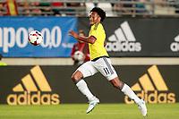 Colombia's Juan Guillermo Cuadrado during international friendly match. June 7,2017.(ALTERPHOTOS/Acero)