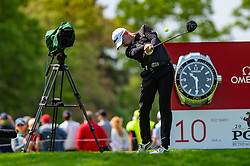 May 19, 2019 - Farmingdale, NY, U.S. - FARMINGDALE, NY - MAY 19: Pat Perez of the United States of America plays his shot from the tenth tee2 during Round 4 of the PGA Championship Tournament on May 19, 2019, at Bethpage State Park in Farmingdale, NY (Photo by John Jones/Icon Sportswire) (Credit Image: © John Jones/Icon SMI via ZUMA Press)