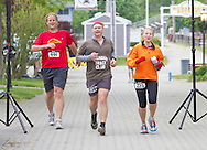 Augusta, New Jersey - Runners complete in 48- and 72-hour races during the 3 Days at the Fair races at Sussex County Fairgrounds on May 13, 2012.