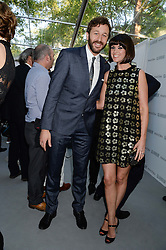 CHRIS O'DOWD and DAWN PORTER at the Glamour Women of the Year Awards in association with Pandora held in Berkeley Square Gardens, London on 4th June 2013.