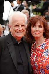 May 14, 2019 - Cannes, France - CANNES, FRANCE - MAY 14: Andre Dussolier and Sabine Azema attend the opening ceremony and screening of ''The Dead Don't Die'' during the 72nd annual Cannes Film Festival on May 14, 2019 in Cannes, France (Credit Image: © Frederick InjimbertZUMA Wire)