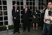 Vernon Swabeck, U.S. Ambassador Robert Tuttle and Myra Millinge, Maricopa Partnership for Arts and Culture,  Arizona Office of Tourism, and Arizona Department of Commerce<br /> In association with the Architecture Foundation and Blueprint magazine host Phoenix: 21st Century City , Serpentine Gallery, London. 12 March 2007.  -DO NOT ARCHIVE-© Copyright Photograph by Dafydd Jones. 248 Clapham Rd. London SW9 0PZ. Tel 0207 820 0771. www.dafjones.com.