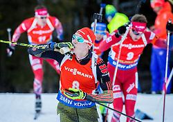 Benedikt Doll (GER) during Men 12,5 km Pursuit at day 3 of IBU Biathlon World Cup 2015/16 Pokljuka, on December 19, 2015 in Rudno polje, Pokljuka, Slovenia. Photo by Vid Ponikvar / Sportida