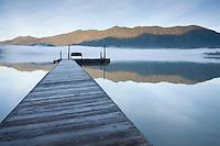Scenic image of Lake Quinalt. Olympic National Park, WA.