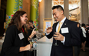 08.30.2018- The Chancellor's Welcome Dinner for McDonnell Scholars..<br /> <br /> Photo by Mary Butkus/WUSTL Photographic Services