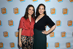 Shauna Farrell and Val Hatcher at Irish Screen America: Float Like a Butterfly & Local Short Film Showcase held at Ahrya Fine Arts by Laemmle on November 02, 2019 in Los Angeles, California, United States (Photo by © Jc Olivera/VipEventPhotography.com)