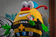 NO FEE PICTURES<br /> 26/3/16 Children nationwide will soon have the opportunity to meet their favourite Irish authors in a new and unique setting. Announced today, the partnership between children's publisher Little Island Books and BUMBLEance, The Children's National Ambulance Service will see children's authors visiting schools, festivals and libraries on board BUMBLEance to read from their work and to meet with children across primary and secondary schools nationwide. <br /> Kate Halon aged 4 and Zara Hanlon age 2 sisters from Artane Dublin 5<br /> Megan Barrett age 6 from Croom Co.Limerick <br /> Ben Kelly aged 8 & Zach Kelly age 5 from Rathfarnham <br /> Authors Christine Hamill, Siobhan Parkinson and PJ Lynch  Pictures: Arthur Carron