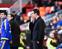 Valencia's  coach Gary Neville  during Spanish King's Cup match. January 6, 2016. (ALTERPHOTOS/Javier Comos)