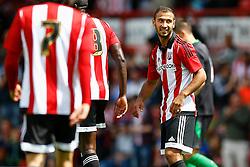 Goal, Joselu of Stoke City scores, Brentford 1-0 Stoke City - Mandatory by-line: Jason Brown/JMP - Mobile 07966 386802 25/07/2015 - SPORT - FOOTBALL - Brentford, Griffin Park - Brentford v Stoke City - Pre-Season Friendly