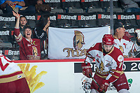 REGINA, SK - MAY 22: Acadie-Bathurst Titan Fans at the Brandt Centre on May 22, 2018 in Regina, Canada. (Photo by Marissa Baecker/CHL Images)