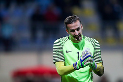 Grega Sorcan of Slovenia during football match between Slovenia and France in Qualifying round for European Under-21 Championship 2019, on November 13, 2017 in Sportni park, Domzale, Slovenia. Photo by Morgan Kristan / Sportida