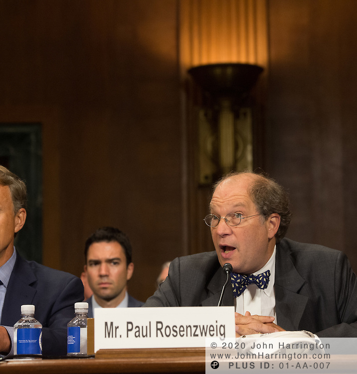 """Mr. Paul Rosenzweig testfies Wednesday September 14, 2016, before the Subcommittee on Oversight, Agency Action, Federal Rights and Federal Courts, testimony was also heard from The Honorable Lawrence E. Strickling, Assistant Secretary for Communications and Information and Administrator<br /> National Telecommunications and Information Administration (NTIA), United States Department of Commerce;  Mr. Göran Marby, CEO and President, Internet Corporation for Assigned Names and Numbers (ICANN); Mr. Berin Szoka, President, TechFreedom; Mr. Jonathan Zuck, President, ACT The App Association;  Ms. Dawn Grove, Corporate Counsel<br /> Karsten Manufacturing; Ms. J. Beckwith (""""Becky"""") Burr, Deputy General Counsel and Chief Privacy Officer, Neustar;  Mr. John Horton, President and CEO, LegitScript;  Mr. Steve DelBianco, Executive Director, NetChoice; Mr. Paul Rosenzweig, Former Deputy Assistant Secretary for Policy, U.S. Department of Homeland Security."""