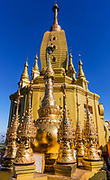 architecture details high sacred place of Mount Popa Myanmar (Burma)