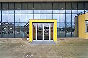 Nederland, Nijmegen, 8-1-2019Het nijmeegse Mondial college werd op internet bedreigd met een aanslag met een kalashnikov. De man die de bedreiging poste is gearresteerd.Foto: Flip Franssen