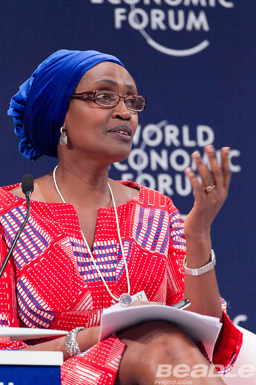 Winnie Byanyima, Executive Director<br /> Oxfam International at the World Economic Forum on Africa 2017 in Durban, South Africa. Copyright by World Economic Forum / Greg Beadle