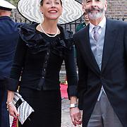 NLD/Den Haag/20130917 -  Prinsjesdag 2013, Minister van Binnenlandse Zaken en Koninkrijksrelaties Ronald Plasterk en partner Els Beumer