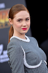Karen Gillan attends the World Premiere of Avengers: Infinity War on April 23, 2018 in Los Angeles, California. Photo by Lionel Hahn/ABACAPRESS.COM