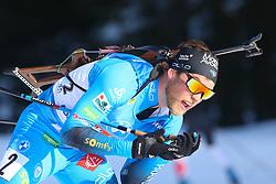Guigonnat Antonin of France competes during the IBU World Championships Biathlon 4x7,5km Relay Men competition on February 20, 2021 in Pokljuka, Slovenia. Photo by Vid Ponikvar / Sportida