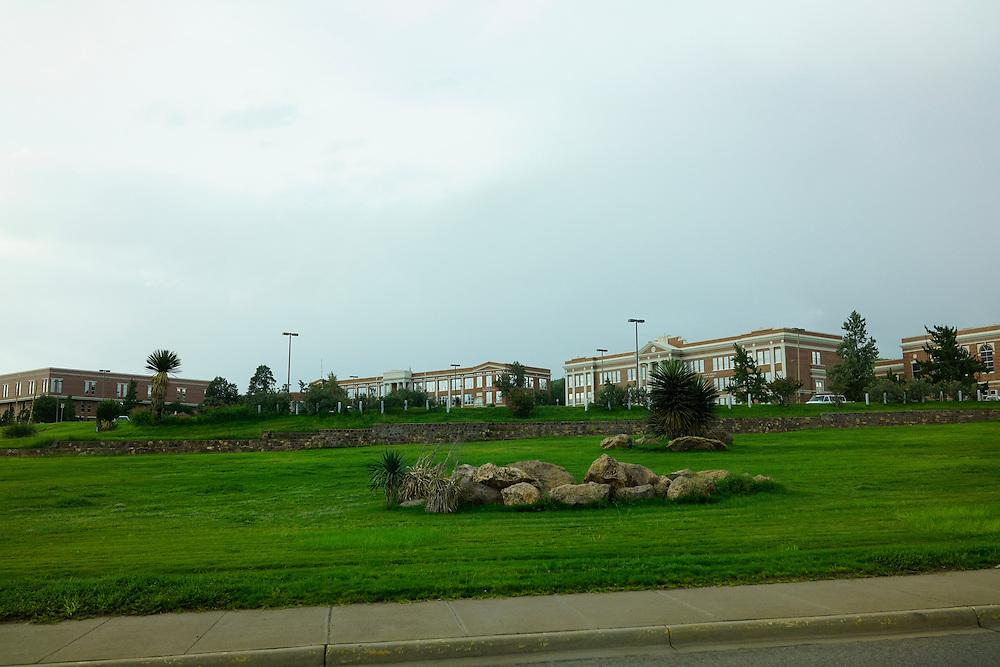 Alpine, Texas - August 25, 2016: Sul Ross University<br /> <br /> CREDIT: Matt Roth