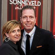 NLD/Amsterdam/20150208 - Herpremiere Sonneveld, Rob Geus en partner Suzanne Ozek
