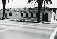 1940 Fox Studio Cafe at William Fox Studios in Hollywood