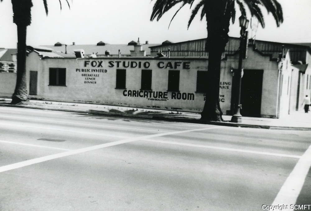 1940 Fox Studio Cafe at William Fox Studios in Hollywood