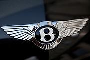 Bond Street Bentley car badge, central London
