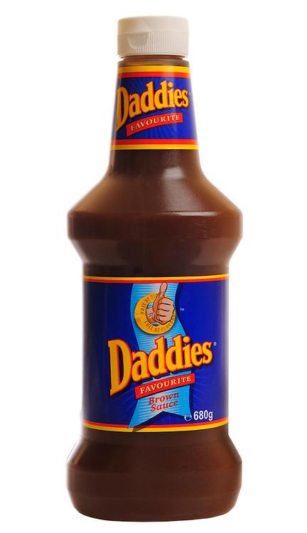 Bottle of Daddies Brown Sauce