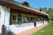 Traditional thatched houses - Szigiglet, Balaton, Hungary