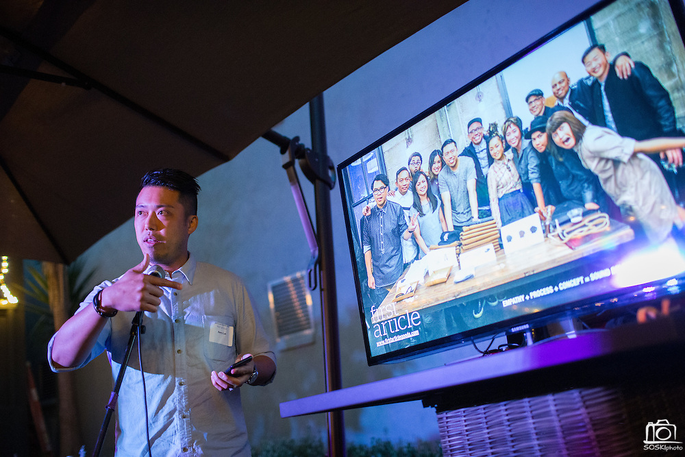 Content Magazine hosts its first Content Labs event, focusing on Bourbon & Branding, at Decca Design in San Jose, California, on July 23, 2015. (Stan Olszewski/SOSKIphoto for Content Magazine)
