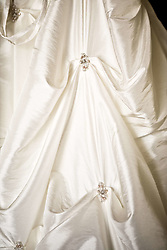 July 21, 2019 - Close Up Of Wedding Dress (Credit Image: © Caley Tse/Design Pics via ZUMA Wire)