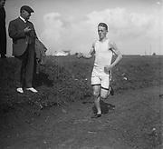 """""""Harold Clyde. 1916"""" (running track)"""
