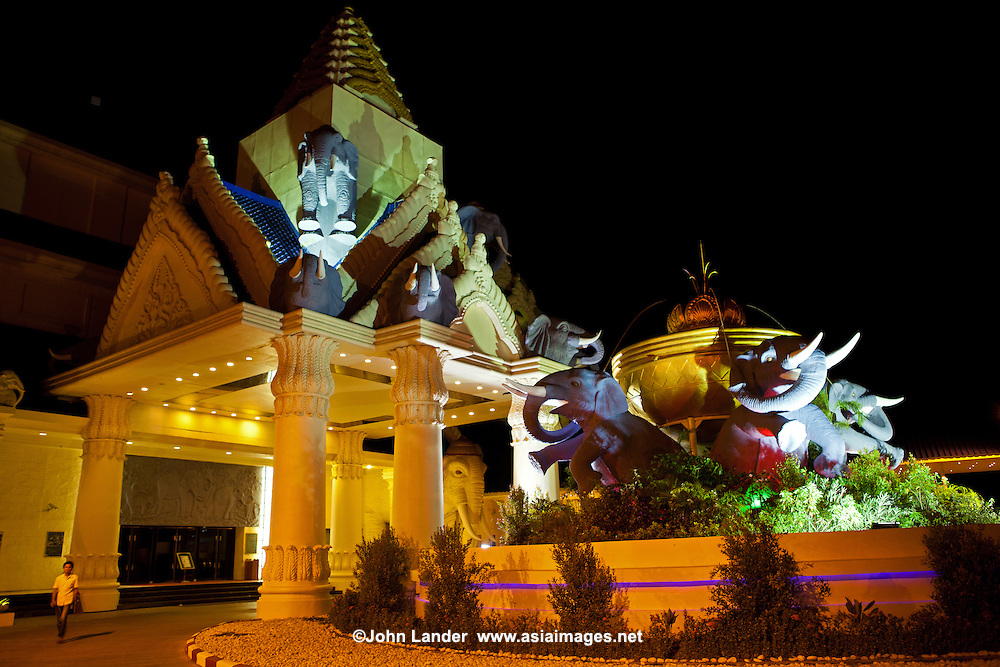Savan Vegas Hotel and Casino has 499 hotel rooms and 5000 square meters of gaming and entertainment space. Savan Vegas regularly hosts gaming tournaments and other events. The facility attracts an average of 4000 visitors per day.  The resort facility employs a staff of nearly 2000 people, 90% of which are Lao citizens.  Savan Vegas provides housing, meals, clothing, medical care, and language instruction to many of its employees at no cost.  Savan Vegas provides complementary shuttle service for all guests arriving at Savannakhet Airport and the nearby Thai border.