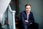 David Walliams, photographed at Soho House
