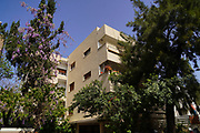 Dina Shoshana Goldberg House (15 Bialik) was designed in 1929 by Architect Pinhas Hutt in the Art Deco architectural style and influenced by the International Style