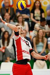 20170525 NED: 2018 FIVB Volleyball World Championship qualification, Koog aan de Zaan<br />Alexander Berger (12) of Austria<br />©2017-FotoHoogendoorn.nl / Pim Waslander