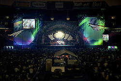 """The Grateful Dead Live at Giants Stadium 03 August 1994. Photograph taken during """"Drums"""""""