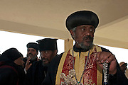 Ethiopian Priest at a religious gathering