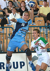 Neli Irman at handball game between women national teams of Slovenia and Belorussia, second qualification game for the European Chamionship 2009, on June 7, 2008, in Arena Zlatorog, Celje, Slovenija. Win of Belorussia, who qualified for EC 2009 in Macedonia. (Photo by Vid Ponikvar / Sportal Images)