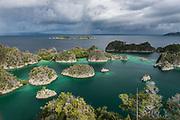 Penemu Island overview<br /> Raja Ampat<br /> Coral triangle<br /> Indonesia